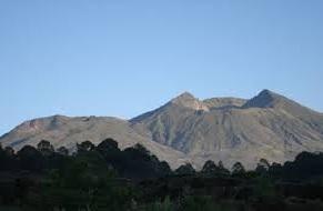 Hiking to mount batur bali